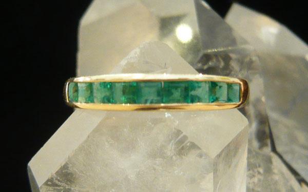 smaragd ring smaragd goldring gr008 407 50 stoned mineraliengrosshandel bergkristalle. Black Bedroom Furniture Sets. Home Design Ideas